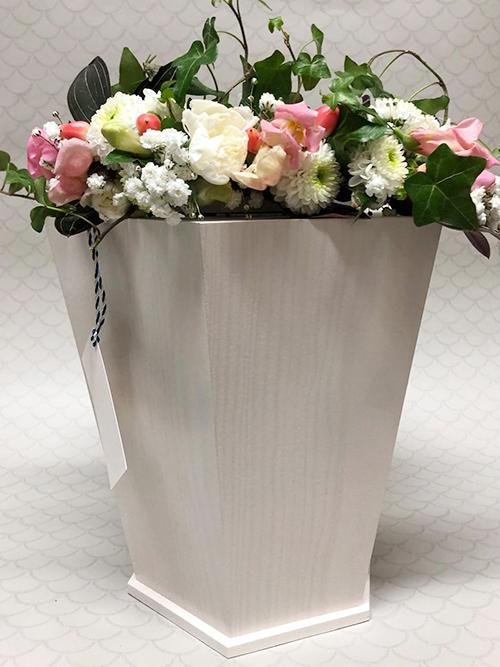 kukat uurnan päällä