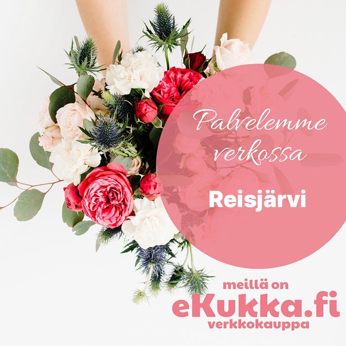 Reisjärven kukkakaupan eKukka-verkkokauppa